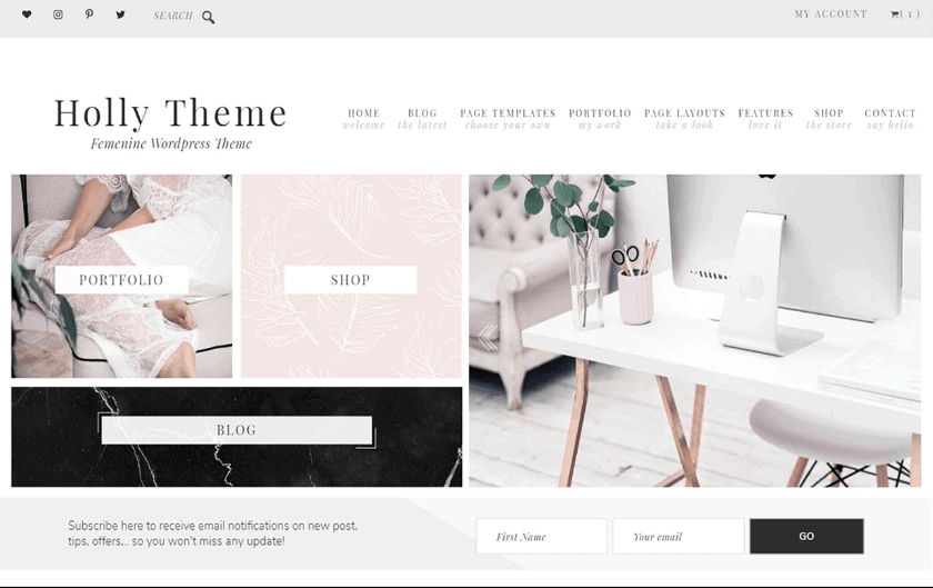 Feminine WordPress Theme's For Under $100 – The Best WordPress Theme's For Your Blog – WordPress For Beginners – WordPress Design – WordPress Tips – WordPress Website – WordPress Blog – WordPress Template – WordPress Plugins | www.lorrainepemmanuel.com