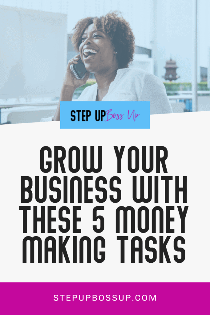 money-making tasks
