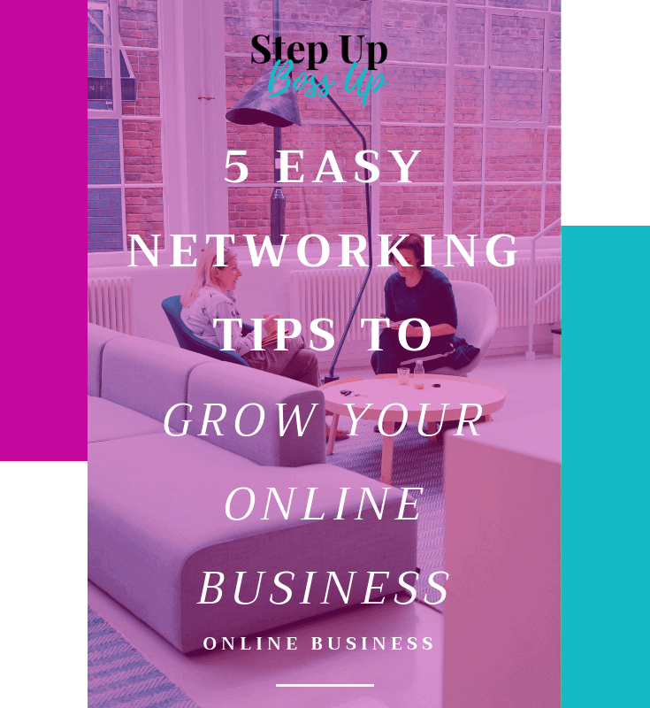 5 Offline Networking Tips to Grow Your Online Business – Networking – Networking Tips – Networking Events – Networking Icebreakers – Networking for Introverts – Networking for women – Networking for shy people – Networking for Bloggers | stepupbossup.com