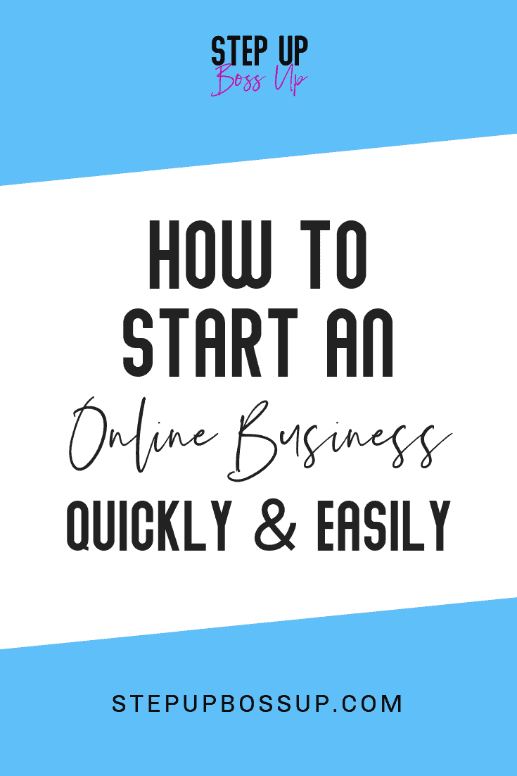 How to start an online business 1