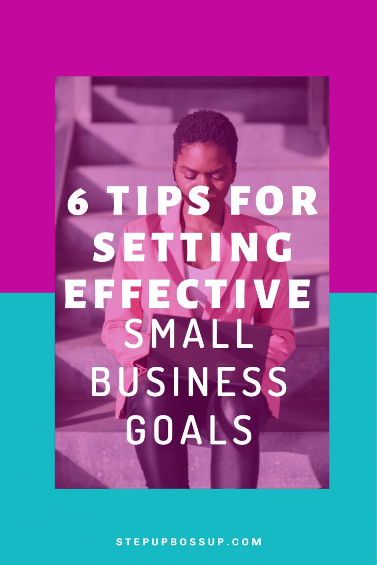 small business goals