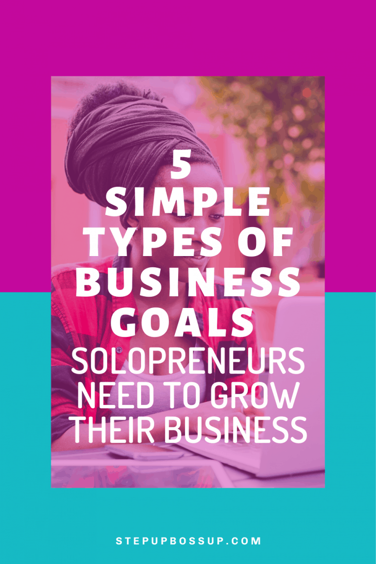 types of business goals