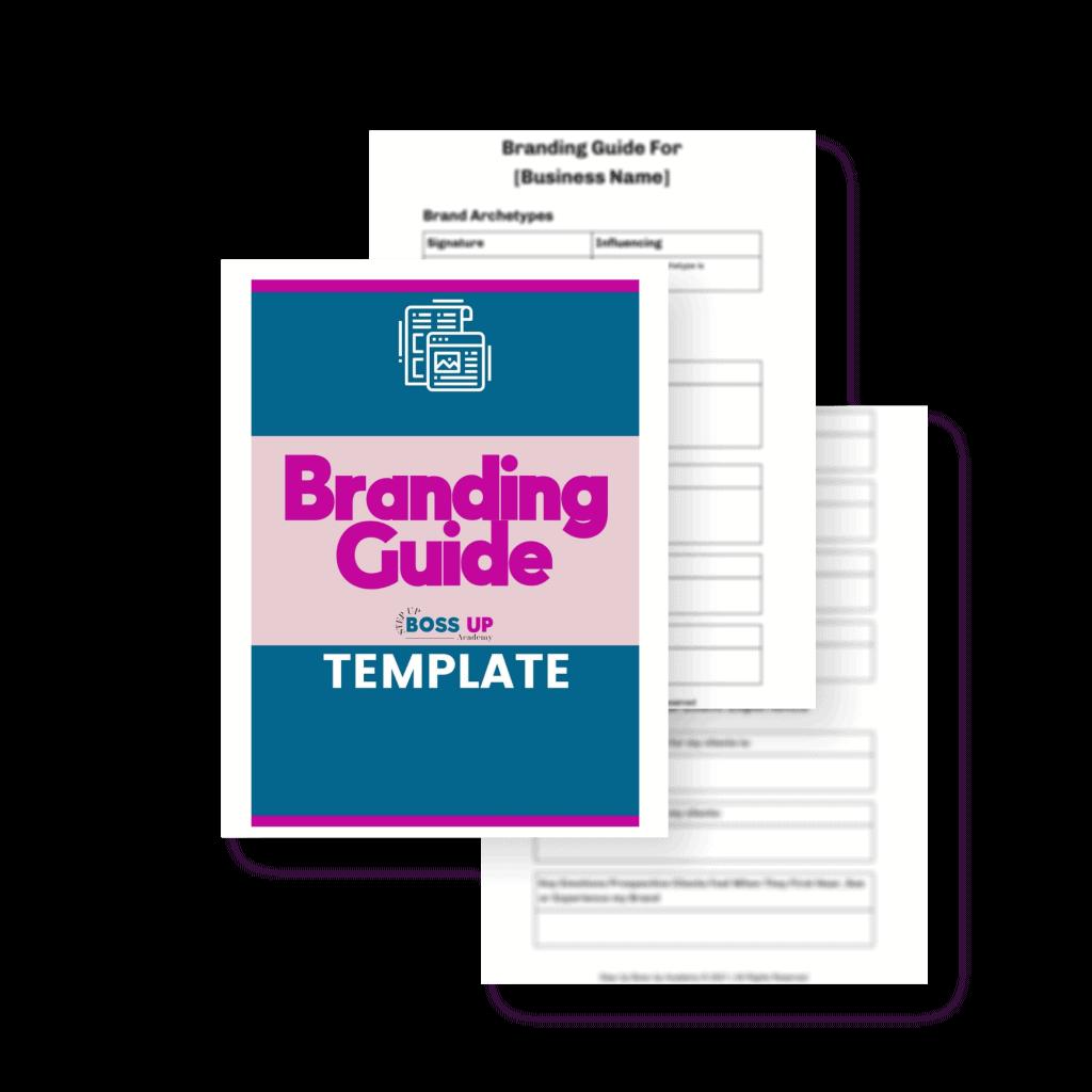 branding guide template